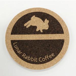 コーヒーショップオリジナルコルクコースター