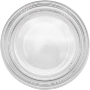 円形ガラス灰皿溝無し