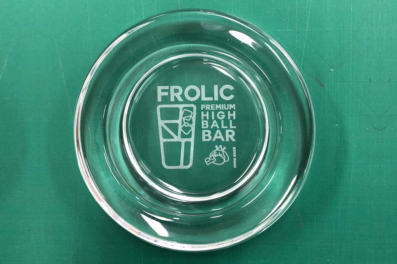BAR FROLIC様オリジナル灰皿